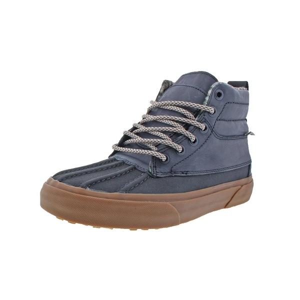 94a61335b2fc Vans Womens SK8-Hi Del Pato Duck Shoes All Weather MTE Fleece Lined - 8