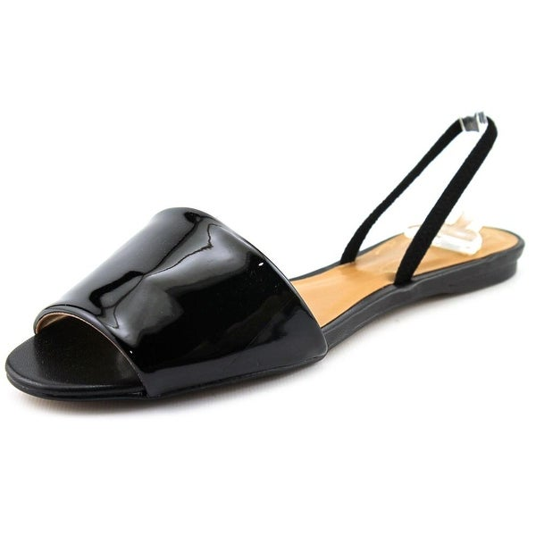 Report Signature Skylen Women  Open Toe Synthetic Black Slides Sandal