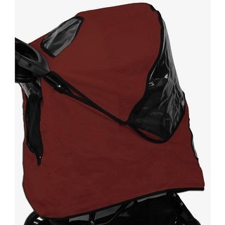 Weather Cover for AT3 Generation II Pet Stroller - Red Poppy