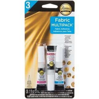 Aleene's Assorted Fabric Fusion Glue 3/Pkg-