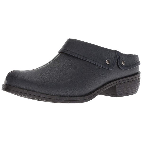 Easy Street Womens Becca Closed Toe Mules. Opens flyout.