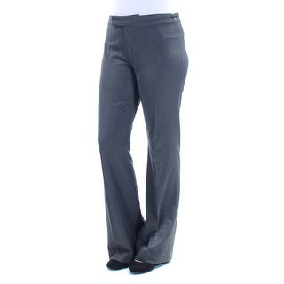 RALPH LAUREN Womens Gray Wear To Work Pants Size: 8