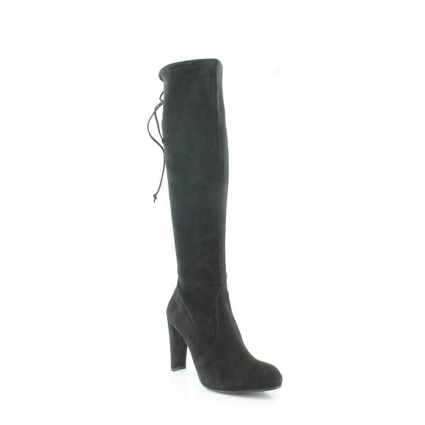 0bf0978d452 Shop Stuart Weitzman Keenland Women s Boots Black - Free Shipping ...