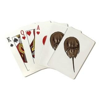 Horseshoe Crab - Icon - Lantern Press Artwork (Poker Playing Cards Deck)
