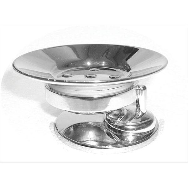 Shop Artos C 14 4ch Metal Free Standing Soap Dish Chrome Free