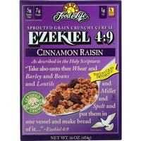 Food For Life - Ezekiel 4:9, Cinnamon Raisin Whole Grain Cereal, 16 oz - case of 6