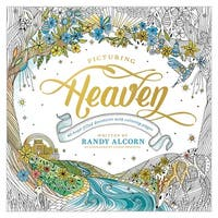 Picturing Heaven by Randy Alcorn - Adult Coloring Book with Devotions - Multicolor