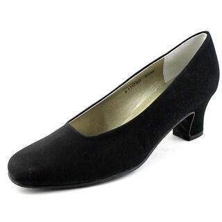 Mark Lemp By Walking Cradles Vicki   Round Toe Synthetic  Heels