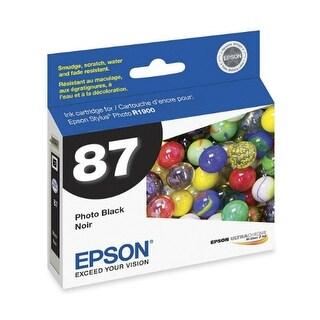 Epson 87 Ink Cartridge - Photo Black Ink Cartridge