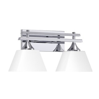 "Park Harbor PHVL2232 McBryde 17"" Wide 2 Light Bathroom Fixture"