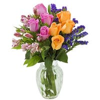 KaBloom: Endless Beauty Mixed Bouquet with Vase