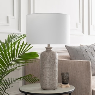 Link to Felindre 25.75 in. Gray Transitional Table Lamp Similar Items in Table Lamps