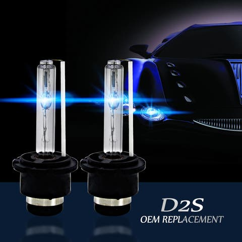 4300k/5000K/6000K/8000K/10000K/12000K D2S D2R D2C HID Xenon Bulbs Replace/Replacement Factory HID Headlight Pair