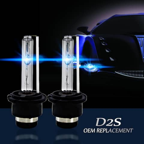 4300k D2S D2R D2C HID Xenon Bulbs Replacement Factory HID Headlight Pair - S