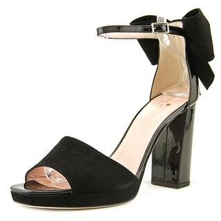 Kate Spade Halle   Open-Toe Synthetic  Heels