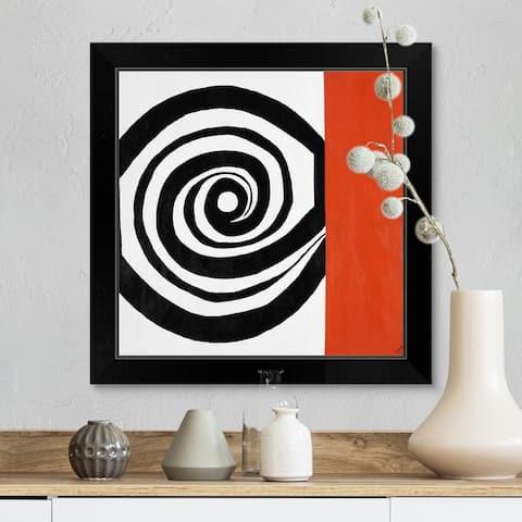 """Hypnotize Me"" Black Framed Print"