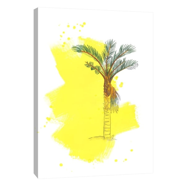 """PTM Images 9-105244 PTM Canvas Collection 10"""" x 8"""" - """"Palm 1"""" Giclee Palm Trees Art Print on Canvas"""