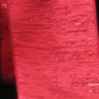 "Metallic Red Wired Craft Ribbon 1.5"" x 54 Yards"