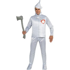 Mens Oz Tin Man Deluxe Halloween Costume size Standard 42-46 - standard - one size