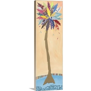 """Date Palm"" Canvas Wall Art"