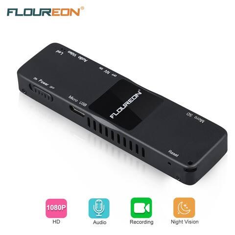 FLOUREON Mini Camera 2.0 Mega Pixels Portable 1080P DV Recorder with Night Vision