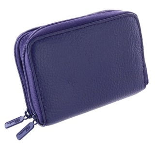 Buxton Women's Leather Mini Accordion Wizard Wallet
