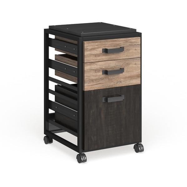 Carbon Loft Plimpton 3-drawer Mobile File Cabinet