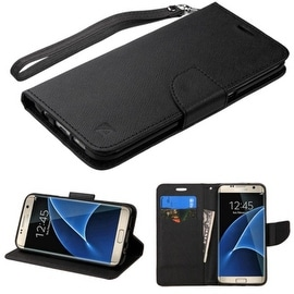 Insten Stand Folio Flip Leather Wallet Flap Pouch Case Cover For Samsung Galaxy S7 Edge