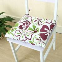 Home Office Square Tie Design Back Chair Pillow Cushion Pad