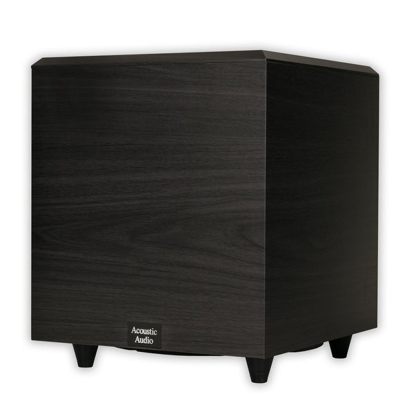 """Acoustic Audio PSW-10 Home Theater Powered 10"""" Subwoofer 400 Watts Surround"""