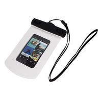 Unique Bargains Waterproof Bag Case Holder Protector White for iPhone 4G w Armband Strap