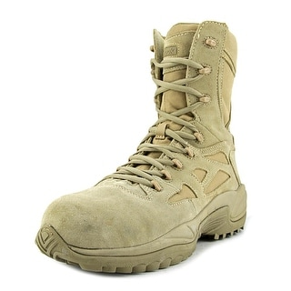 Reebok Rapid Response Men W Composite Toe Leather Tan Work Boot