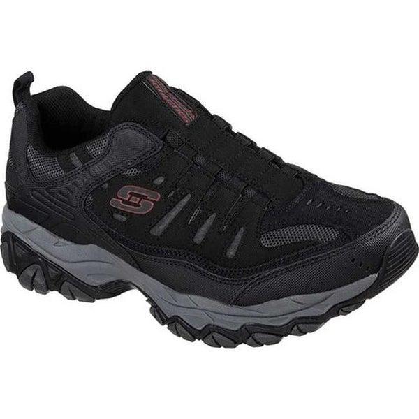 7324b2ccd87 Shop Skechers Men's After Burn M. Fit Slip-On Walking Shoe Black ...