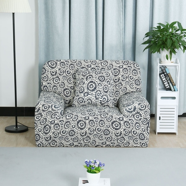 Shop Home Sofa Couch Loveseat Stretch Cover Slipcover