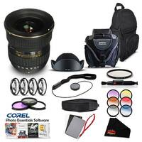 Tokina 11-16 F/2.8 AT-X DX II (for Nikon) (Intl Model) Lens Accessory Kit - black