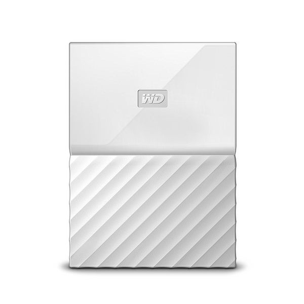 Western Digital - Wd 1Tb My Passport Portable White
