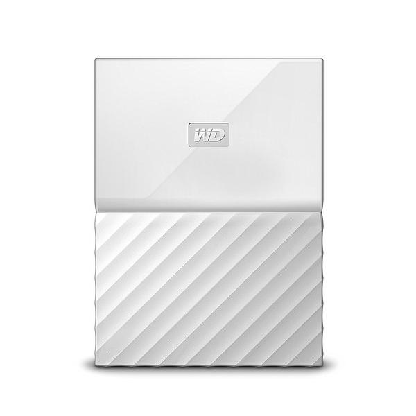 Western Digital - Wd 1Tb My Passport Portable White