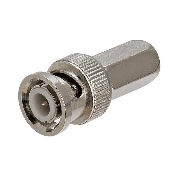 BNC Male Twist-on Connector, RG6