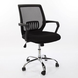 VECELO Ergonomically Adjustable Office Desk Chair , Mesh office chair,Mid Back Mesh Chair
