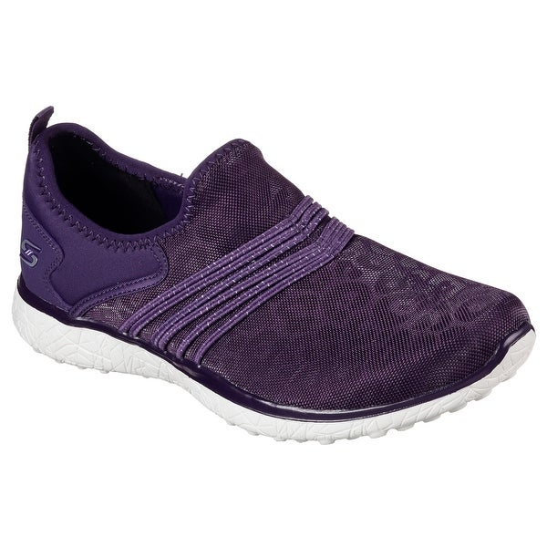 Skechers 23322 PUR Women's MICROBURST-UNDER WRAPS Walking