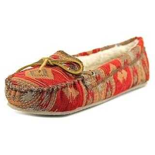 Minnetonka Baja Cally Women  Round Toe Canvas  Loafer