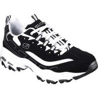 Skechers Men's D'Lites Sneaker Black/White