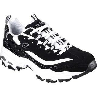Skechers Men's D'Lites Sneaker Black/White