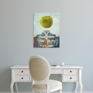 Easy Art Prints Terry Fan's 'Sgt. Apple' Premium Canvas Art