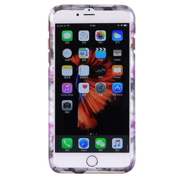 Insten Roses Hard Snap-on Rubberized Matte Case Cover For Apple iPhone 6/ 6s