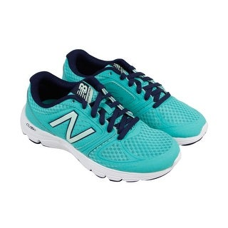 New Balance W575 Womens Blue Mesh & synthetic Athletic Lace Up Running Shoes
