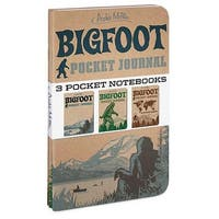 Bigfoot Pocket Journal Set, Satire by Accoutrements