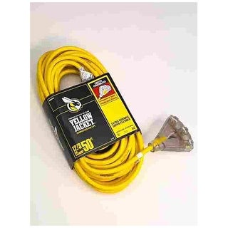 Coleman Cable 2827 Cord Power Block 12/3 50