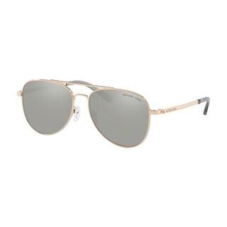 Link to Michael Kors MK1045 11086G 56 Rose Gold Woman Pilot Sunglasses Similar Items in Women's Sunglasses