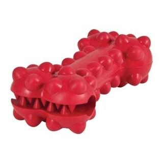 Petmate 30813 Dogzilla Knobby Rubber Dog Bone Toy, Medium